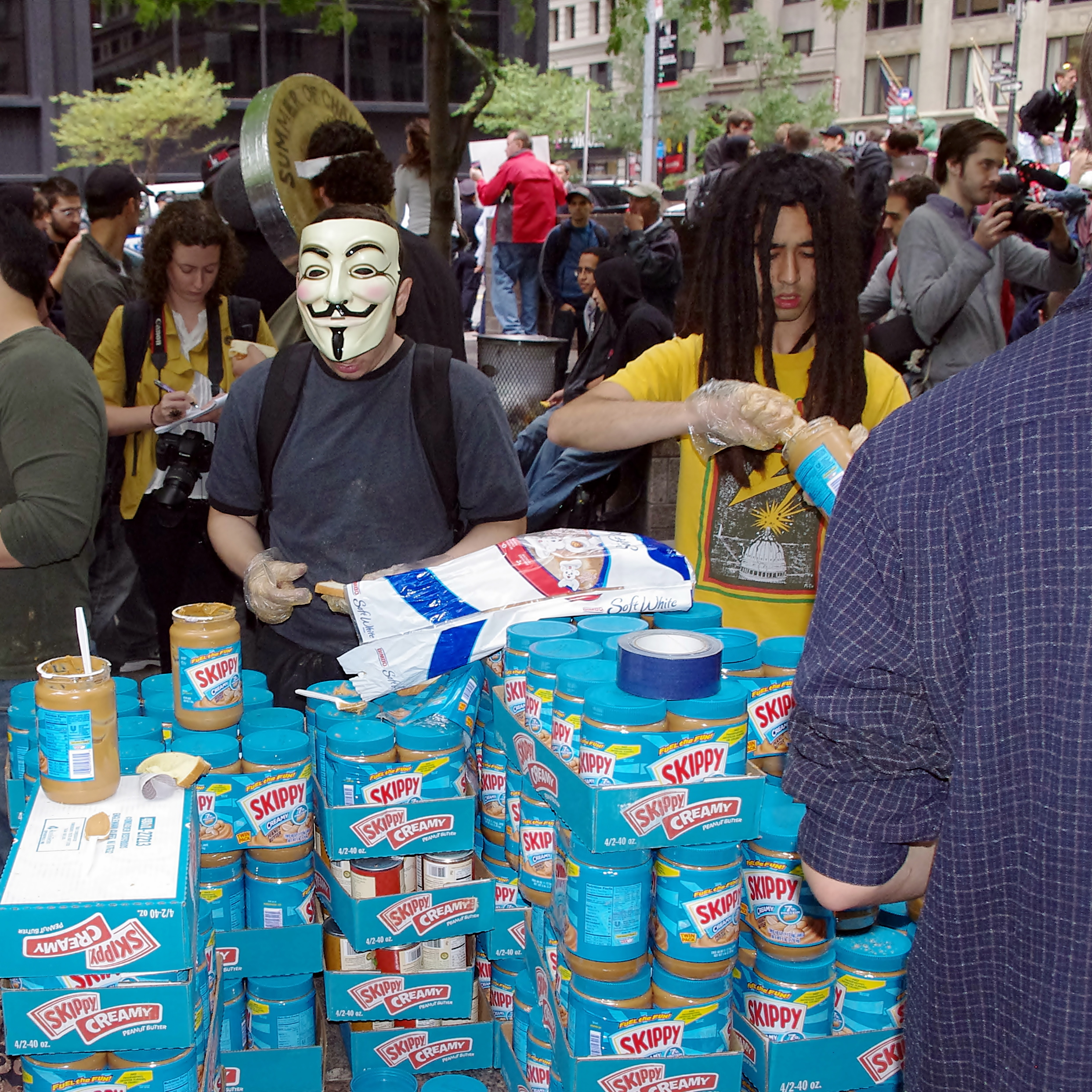 Identity, consumption, and the politics of food in the Occupy Wall ...