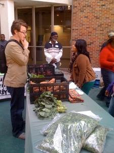 SLU spring campus farmers market