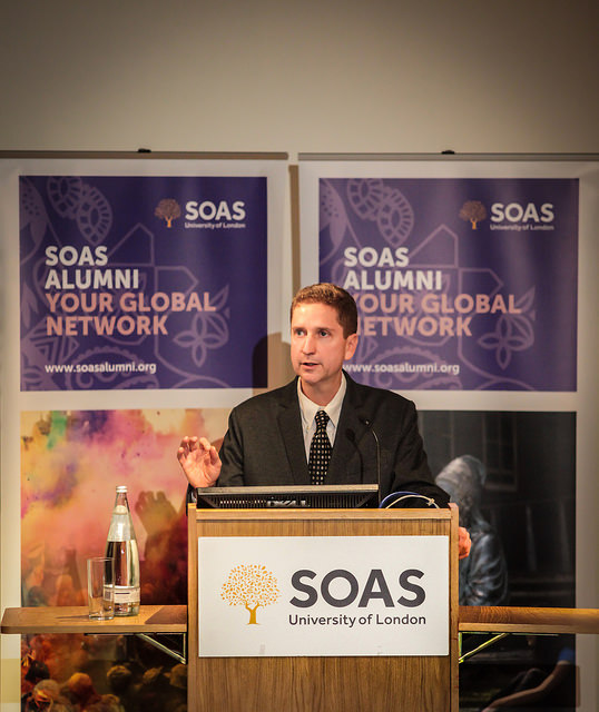 SOAS Food Studies Chair, Professor Harry West