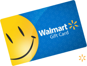 WalMart gift card, the currency of choice for the Burmese community.