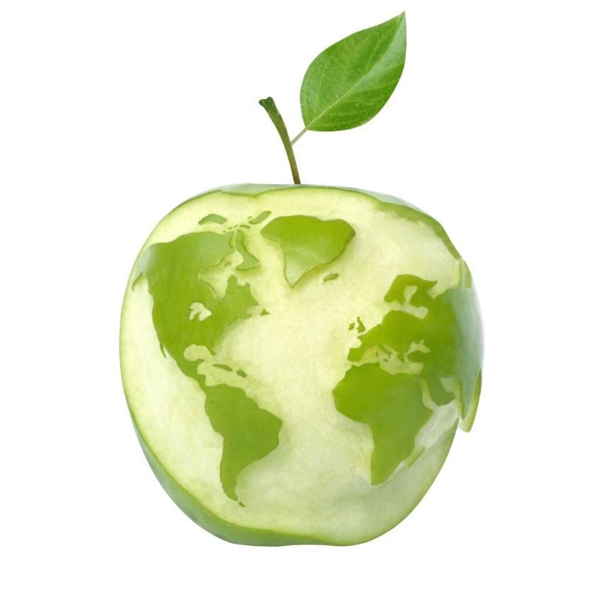 green apple earth