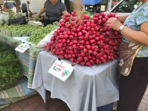Radishes Madison Farmers Market