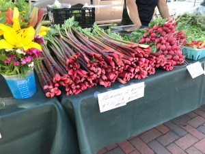 Rhubarb Madison Farmers Market