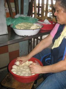 Making Baleadas